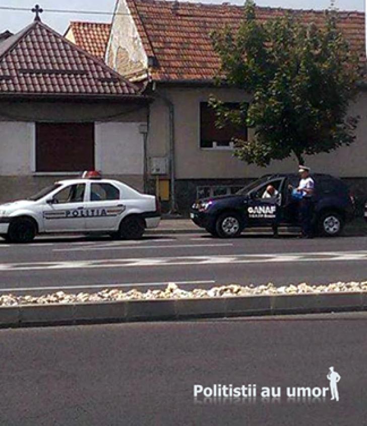 """VIRAL! Pe cine a amendat în trafic poliţistul Marian Godină. """"Nu mai zice nimeni nici pâs!"""""""