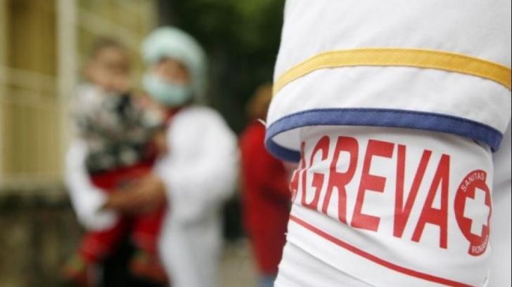 GREVĂ generală luni în toate spitalele din România