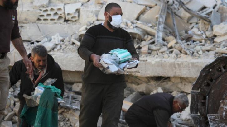 Maternitate din Siria, distrusă de un raid aerian