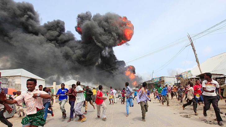 Atac cu maşină-capcană, în Departamentul pentru Investigaţii Criminale din capitala Somaliei