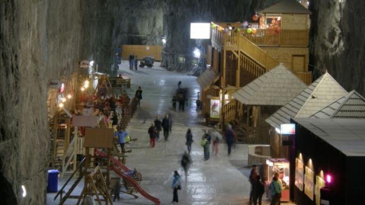 Parcul de aventură din Salina Praid, singurul din lume de acest fel, a fost ÎNCHIS