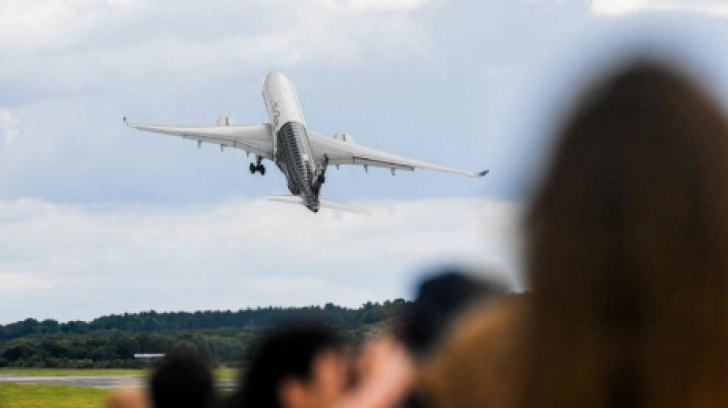 Momente greu de privit: decolarea uimitoare a noului Airbus A350 - VIDEO