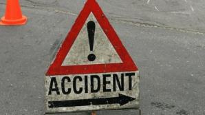 Accident cumplit în Argeş. Un bărbat a adormit la volan şi a lovit trei maşini
