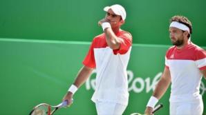 JO 2016 - Tenis: Mergea și Tecău, calificați în semifinalele probei masculine de dublu