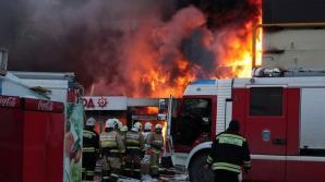 ALERTĂ. Incendiu puternic în Cluj-Napoca