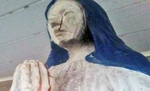 Fecioara Maria, statuia din Bolivia