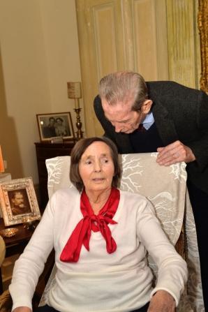 Ultima fotografie cu Regina Ana şi Regele Mihai împreună. O dragoste de 68 de ani