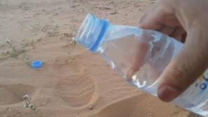 A turnat apă rece în nisipul din deşert! Nu îţi imaginezi ce s-a întâmplat!
