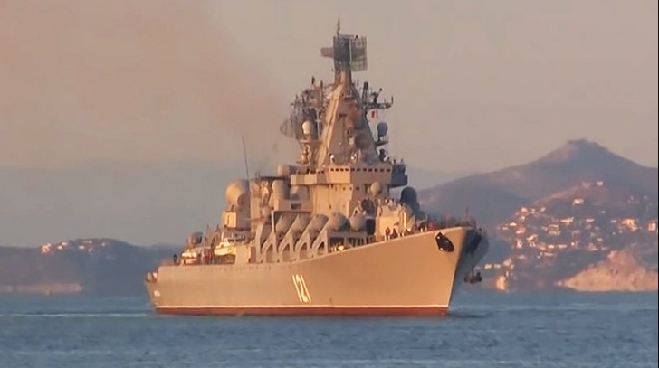 Flota rusă la Mediterana