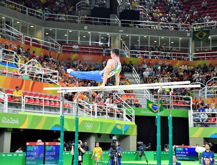 JO 2016: Andrei Muntean, locul 6 la paralele! Romania, prima data fara medalii in 40 de ani