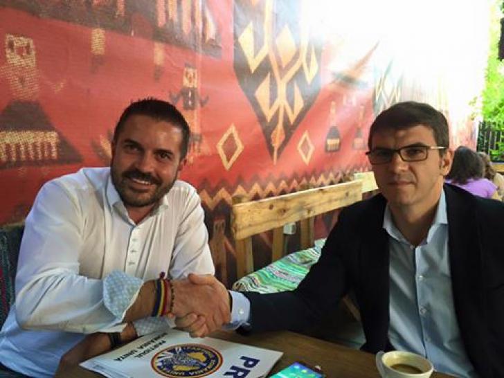 Racolări pe bandă rulantă la PRU: Cristian Rizea şi Mihai Sturzu s-au înscris în partid