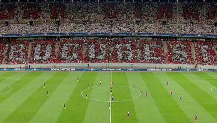 Dezvăluiri despre costul şi aranjamentul coregrafiei, organizată de Dinamo la meciul Steaua-City