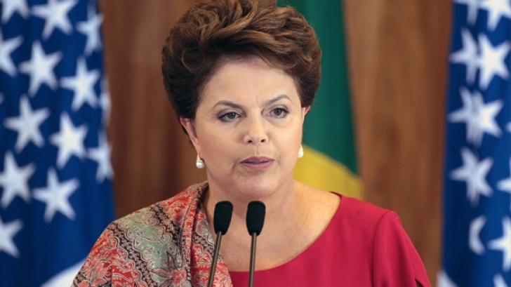 Dilma Rousseff, preşedintele Braziliei, a fost destituită din funcţie de Senat