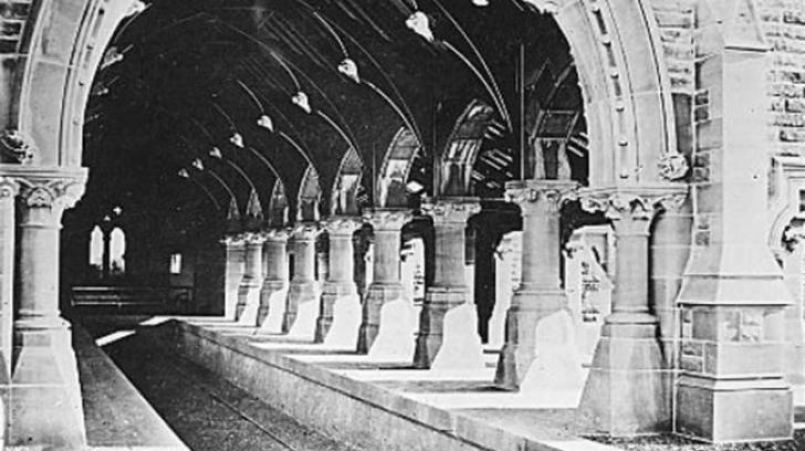 Povestea morbidă a acestei staţii de tren. Ţi se face pielea de găină!
