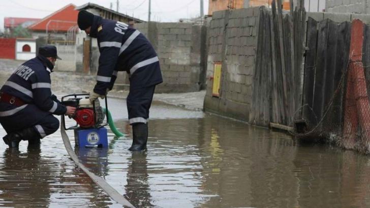 Inundaţii în Bucureşti