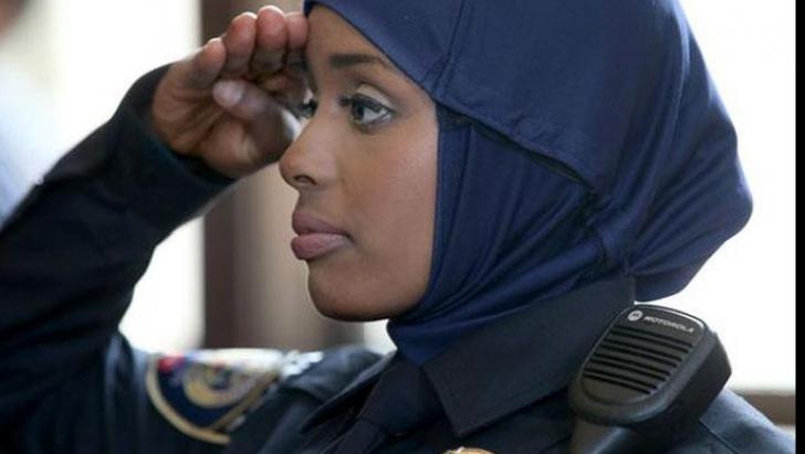 Hijab in Politie