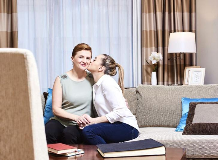 "(P) Gimnasta Larisa Iordache spune ""Mulţumesc, mamă!"" în cadrul campaniei P&G"