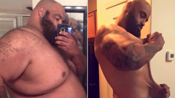 Mersul des la cumpărături l-a ajutat să slăbească 150 de kilograme