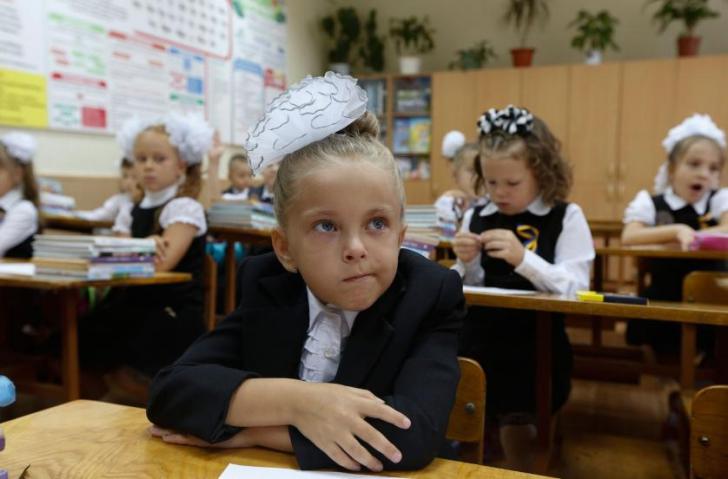 Cum arată prima zi de școală în RUSIA