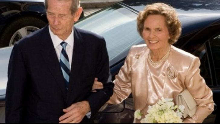 Regina Ana, alături de regele Mihai