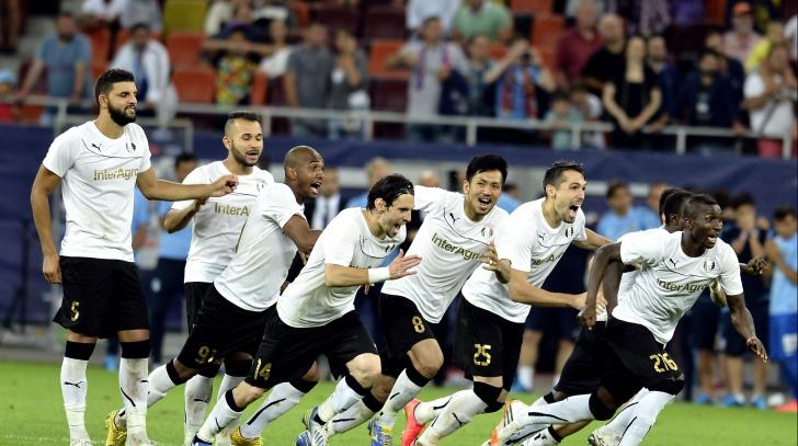 Europa League. Cu cine va juca Astra Giurgiu în grupe după calificarea spectaculoasă de joi