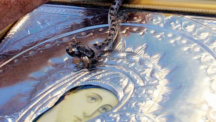 Minune: ce a apărut, de Adormirea Maicii Domnului, într-o biserică - FOTO