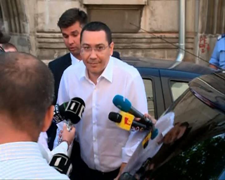Ponta a anunţat că şi-a depus deja solicitarea pentru candidatura la parlamentare. Unde va merge