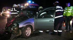 Accident grav în judeţul Cluj. Şapte persoane au fost rănite