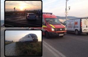 Accident tren Mioveni
