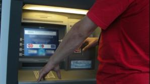 Bancomatele, în vizorul hoţilor