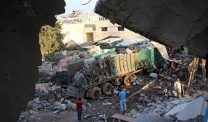 Convoi umanitar, atacat