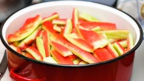 Arunci coaja de pepene? După ce citești asta, NU o vei mai face
