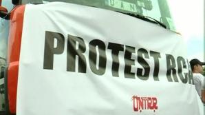 Proteste de amploare ale transportatorilor