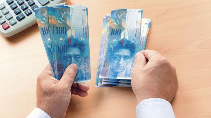 Conversia creditelor în franci elveţieni
