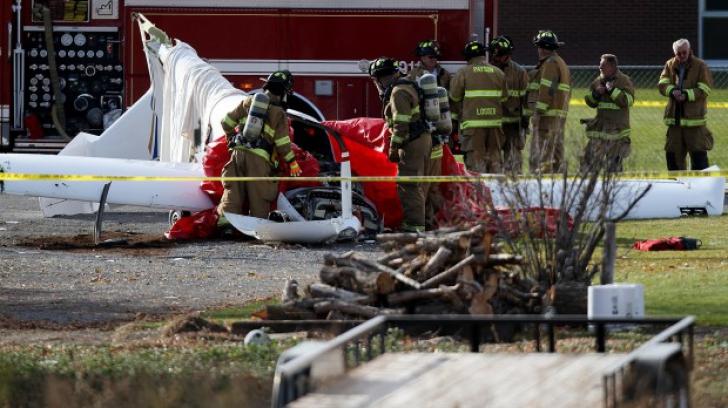 Două avioane s-au cionit în zbor, în apropiere de Budapesta. Patru persoane au murit