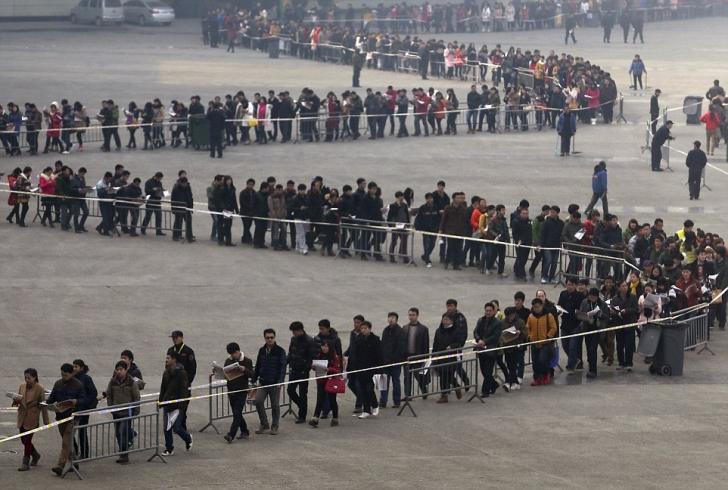 Cum arată adevărata aglomeraţie, made in China. Fotografii uimitoare!