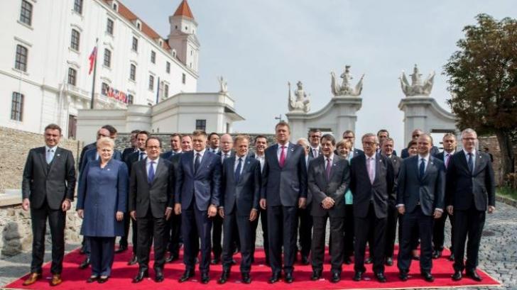 """Premierul Italiei critică dur UE: Summitul de la Bratislava, doar o """"croazieră pe Dunăre"""""""