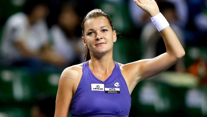 Poloneza Agnieszka Radwanska s-a calificat în sferturi de finală ale turneului de la Wuhan