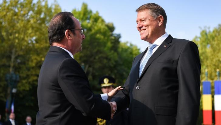 """Daraban, despre vizita lui Hollande: """"Toți jucătorii mari de pe piața franceză sunt în România"""" - Foto: Administratia Prezidentiala"""