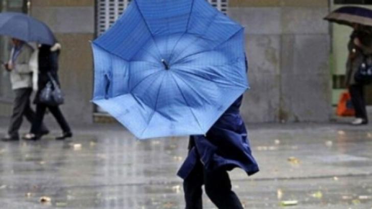 Vremea 26 mai - Ploi torențiale și vijelii timp de trei zile