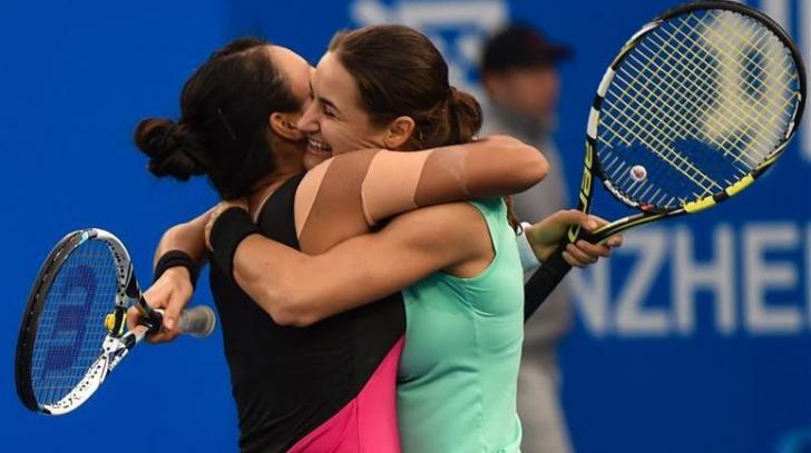 US OPEN 2016. Monica Niculescu şi Vania King s-au calificat în optimile de finală la dublu