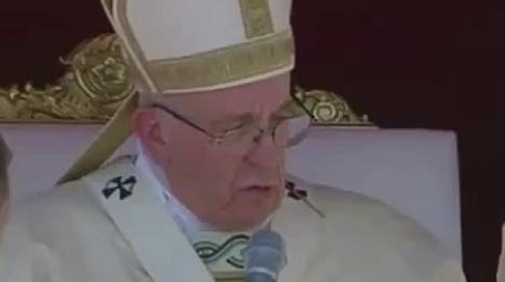 Maica Tereza a fost sanctificată de Papa Francisc! 13 şefi de state au participat la ceremonie