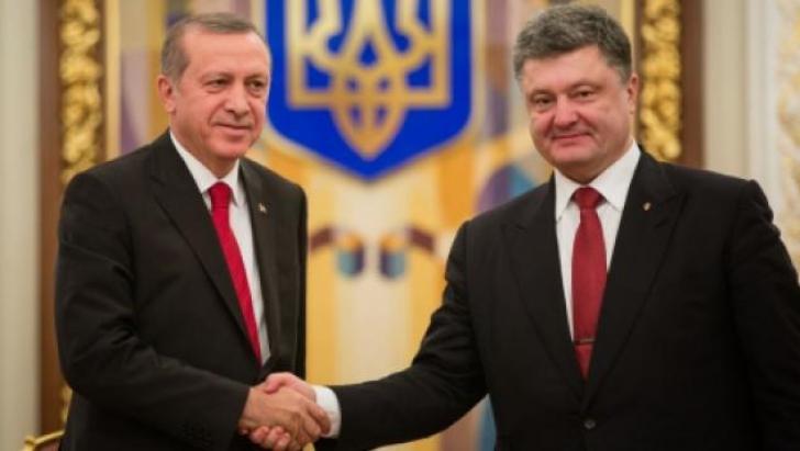 Prietenie cu Rusia până la un punct. Erdogan anunță că susține Ucraina în dosarul Crimeei