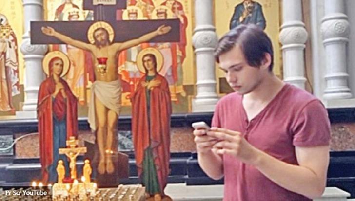 A jucat Pokemon Go în biserică. Ce a păţit este halucinant! Cum a fost posibil aşa ceva?