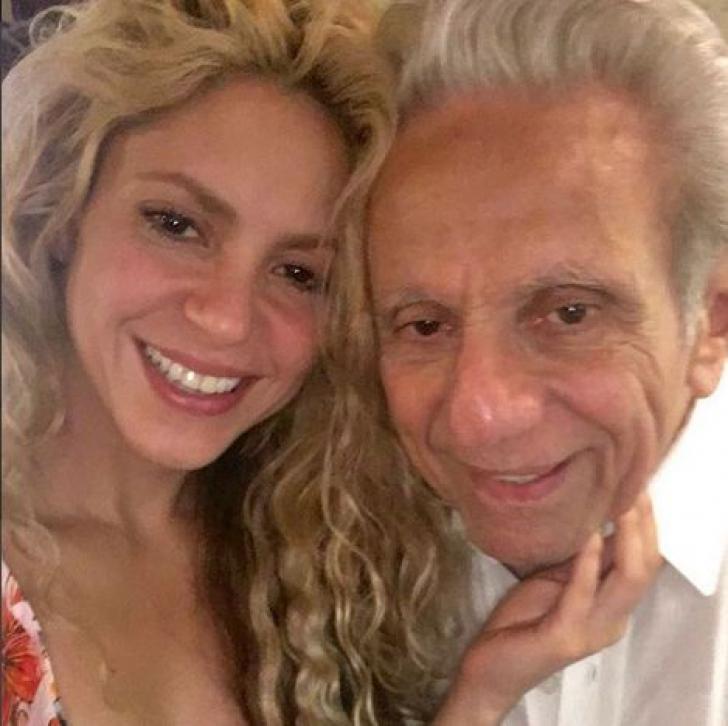 Toţi o cunosc pe Shakira, dar puţini sunt cei care îl ştiu pe tatăl ei. Imaginea care s-a viralizat