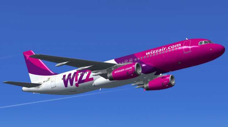 Amenințarea cu bombă la bordul aeronavei Wizzair era falsă. Avionul și-a reluat zborul după 5 ore