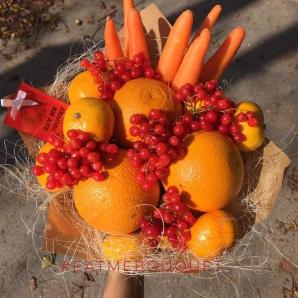 O nouă modă! Buchete din legume şi fructe. Imaginile sunt superbe!