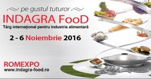 INDAGRA FOOD, evenimentul marilor jucători din industria alimentară. 2-6 noiembrie, la ROMEXPO