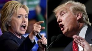 ALEGERI SUA. SONDAJ: Hillary Clinton şi Donald Trump, la egalitate în preferinţele de vot