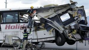 Accident devastator în California